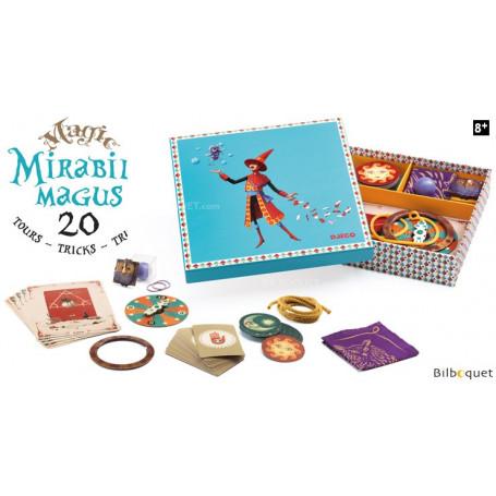 Mirabile Magus - Coffret 20 tours de magie 8-12 ans