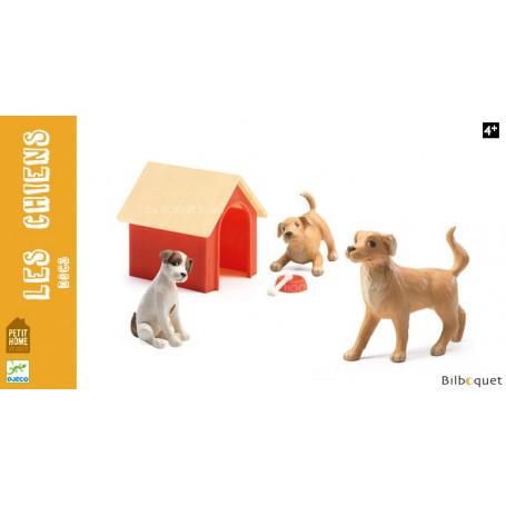 Les chiens - Accessoires pour maisons de poupées