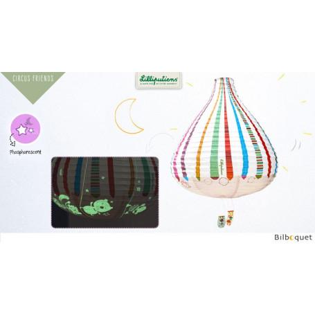 Cirque lanterne montgolfière - Décoration chambre enfant