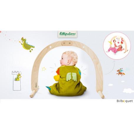 Arche en bois - Portique pour bébé