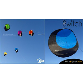 Switch - Cerf-volant monofil pilotable - BLEU