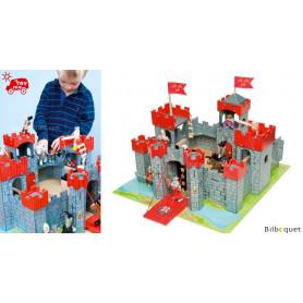 Le château Coeur de lion - Château fort en bois