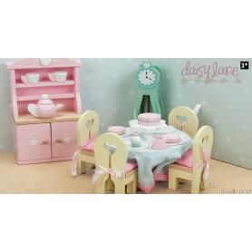La salle à manger de Daisylane - mobilier pour maison de poupées