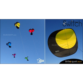 Switch - Cerf-volant monofil pilotable - JAUNE