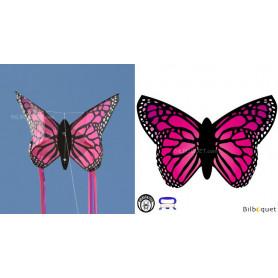 Cerf-volant papillon ROSE - Monofil pour enfants