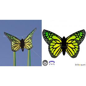 Cerf-volant papillon JAUNE - Monofil pour enfants