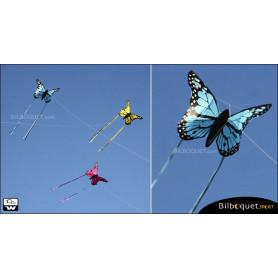 Cerf-volant papillon BLEU - Monofil pour enfants