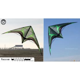 Zodarion cerf-volant acrobatique (nu)