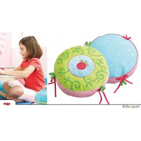 Coussin/Pouf Caro-Lini - Accessoire pour chambre d'enfant