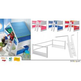 Kit de conversion Lit mezzanine Matti - Laqué Blanc