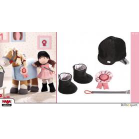 Ensemble Équipement d'équitation - Accessoires pour poupées