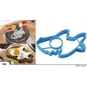 Moule en silicone pour oeuf sur le plat Requin