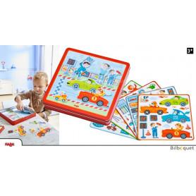Boîte de jeu magnétique Petits Bolides