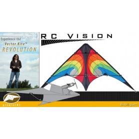 Vision Vector Kite 840 Series - Rainbow Vortex