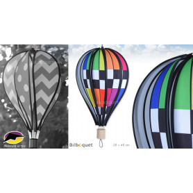 Ballon à suspendre Checkered Rainbow 45cm