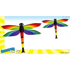 Grand cerf-volant monofil enfant - Libellule