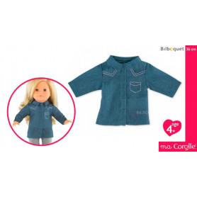 Chemise Bleue pour poupée Ma Corolle 36cm