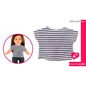 T-Shirt Rayé pour poupée Ma Corolle 36cm
