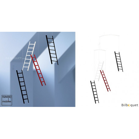 7 marches et 4 échelles volantes - Mobile Design