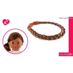 Headband Châtain pour poupée Ma Corolle
