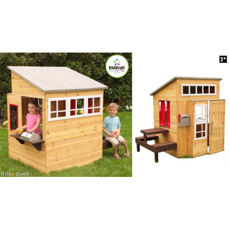cabane d 39 ext rieur pour enfants mobilier de jardin. Black Bedroom Furniture Sets. Home Design Ideas