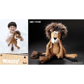 Lion Metusa Leo 33cm - Peluche déjantée