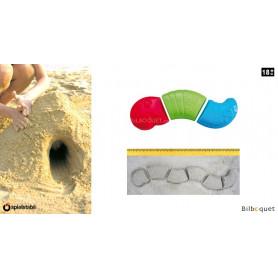 Moules à sable - Ver sans fin