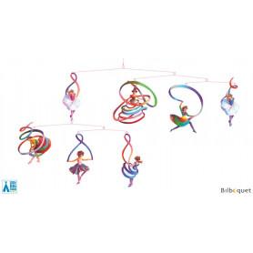 Les danseuses - Mobile en papier