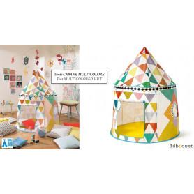Cabane multicolore - Tente de jeu