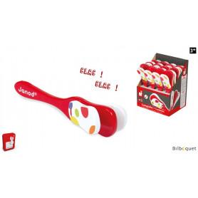 Castagnette Confetti - Instrument de musique jouet en bois