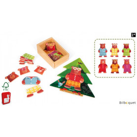 Puzzle en bois Pyjamas Party - Zigolos