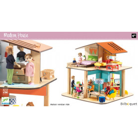 Maison de poupée Modern House (vide)