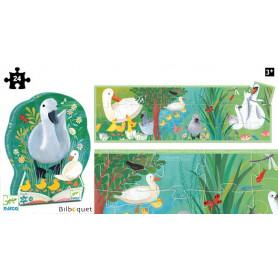 Le vilain petit canard - Puzzle Silhouette 24 pièces