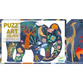 Puzz'Art Éléphant - Puzzle 150 pièces