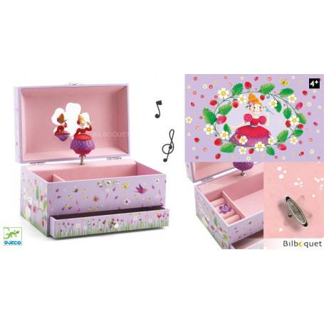 Boîte à bijoux musicale Mélodie de la Princesse