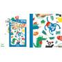Tatouages éphémères pour enfants - Museaux