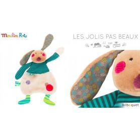 Doudou plat Lapin - Les Jolis Pas Beaux