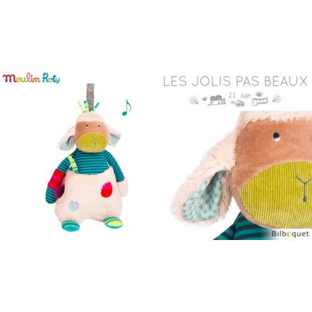 Doudou musical Mouton - Les Jolis Pas Beaux