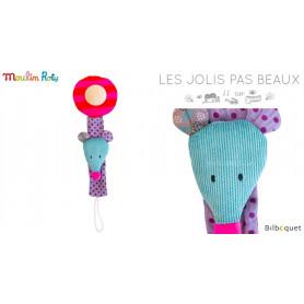 Attache sucette Souris - Les Jolis Pas Beaux