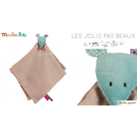 Doudou lange - Souris - Les Jolis Pas Beaux