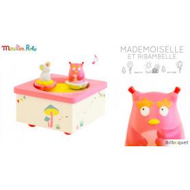 Manège musical magnétique - Mademoiselle et Ribambelle