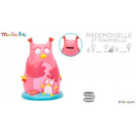 Tirelire chouette - Mademoiselle et Ribambelle