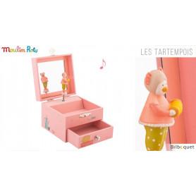 Coffret à bijoux musical - Les Tartempois