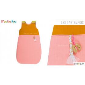Gigoteuse Sac de couchage rose - Les Tartempois
