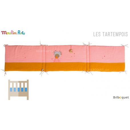 Tour de lit rose - Les Tartempois