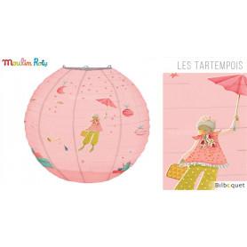Lanterne en papier - Rose - Les Tartempois