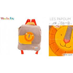 Sac à dos pour la maternelle - Lion - Les Papoum