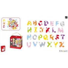 Mallette de 52 Lettres magnétiques Splash