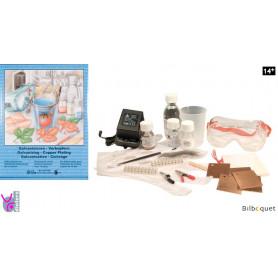 Kit d'éléctrolyse pour traitement de surface - Galvanisation - Cuivrage