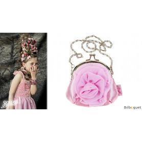 Bourse Petit sac à main rose Ann